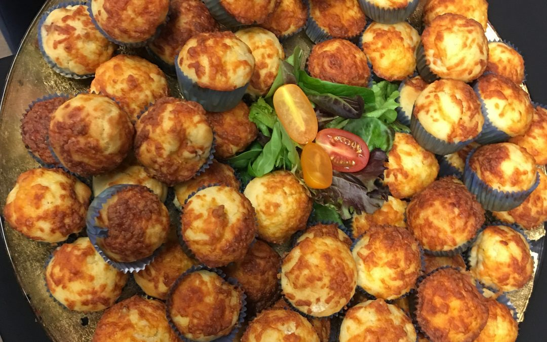 Cheese and Bacon Mini Muffins