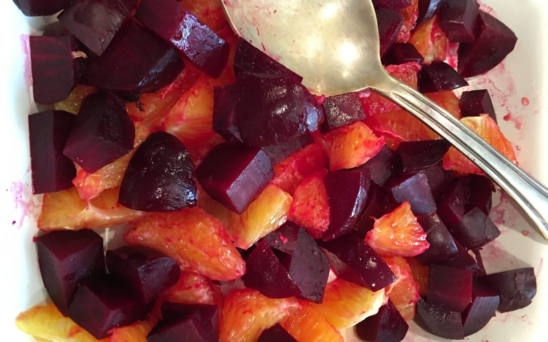 Beetroot (Beet) and Orange Salad