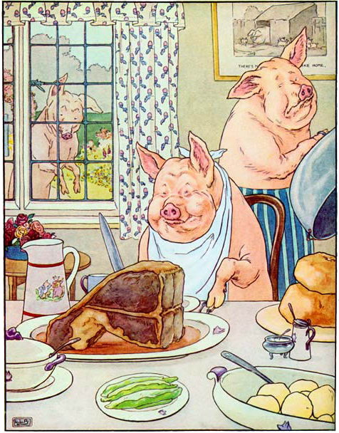 orwell the pigs Another pig, named squealer, became the propaganda pig he is very important as napoleon the pigs are perhaps the most interesting characters in the novel, animal farm, written by george orwell.