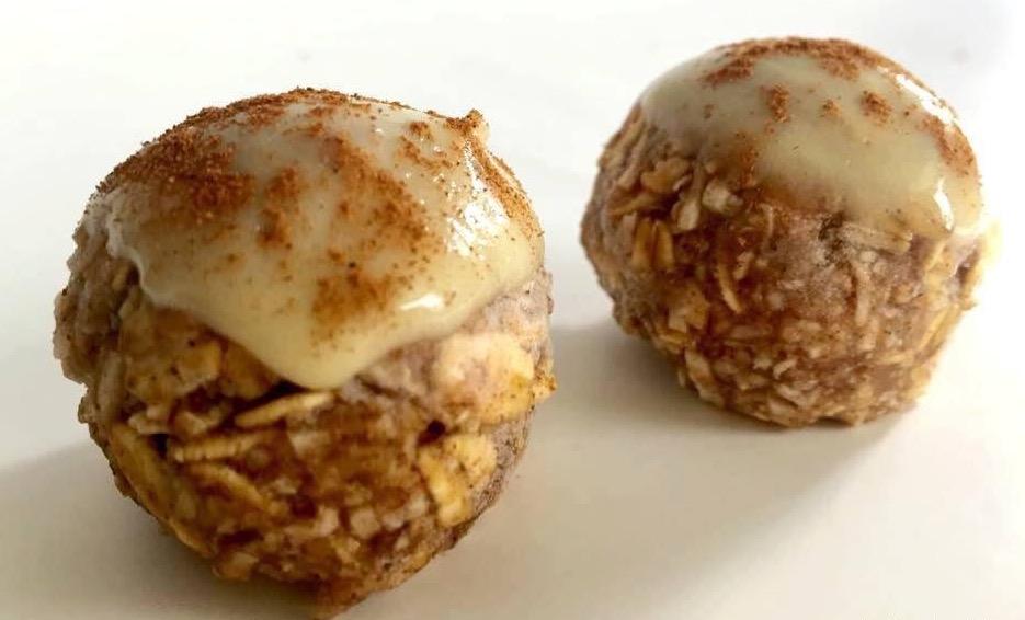 Cinnamon Protein Balls